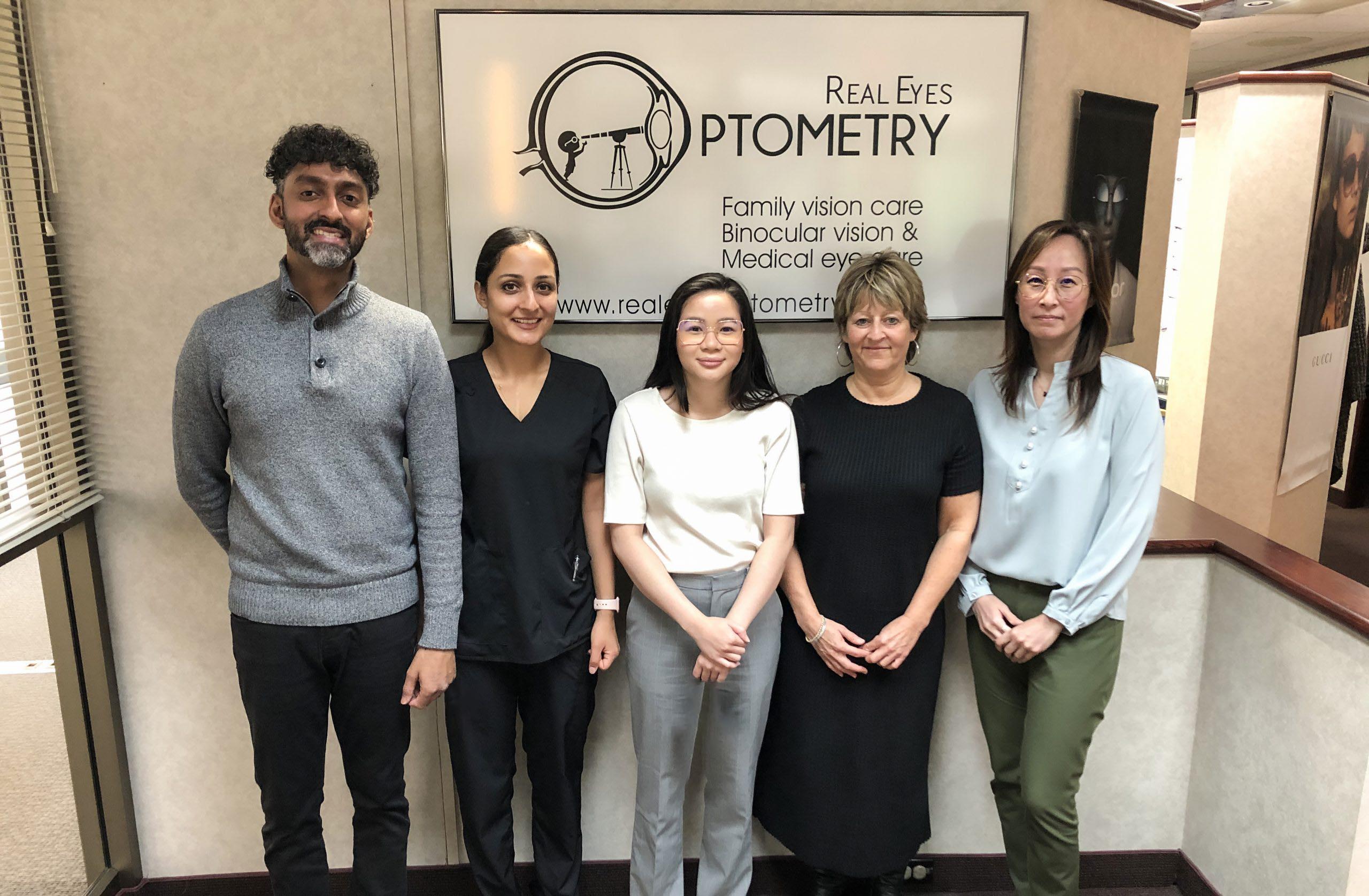 Real Eyes Optometry Staff Photo